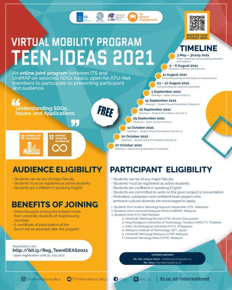 Poster - TEEN IDEAS 2021