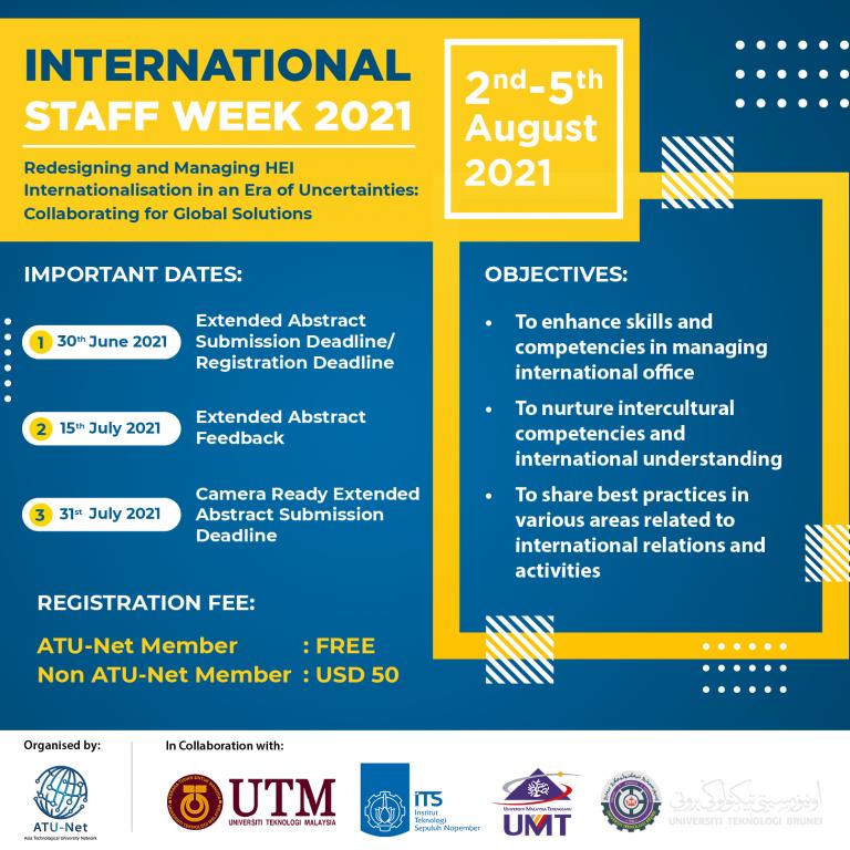 Poster - International Staff Week 2021-01